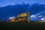 Lewis Katz Building at Night