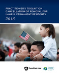 Practitioner's Toolkit on Cancellation of Removal for Lawful Permanent Residents
